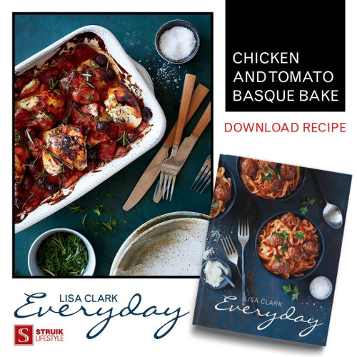 Download the recipe for lisa clarks delicious chicken and tomato download the recipe for lisa clarks delicious chicken and tomato basque bake more about the book forumfinder Choice Image