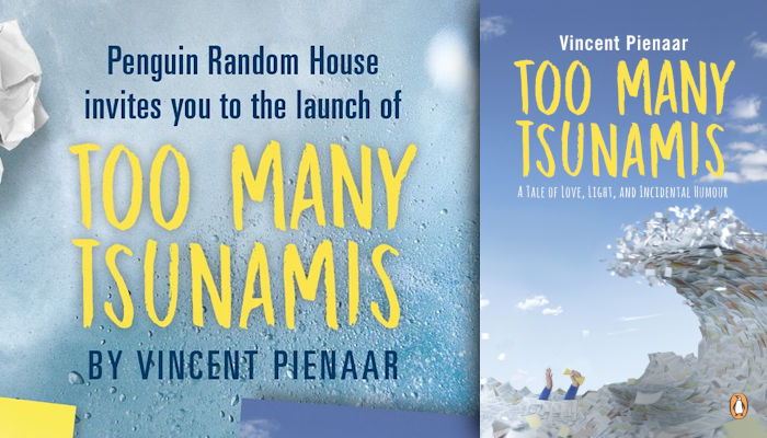 Join Vincent Pienaar for the launch of his new novel Too