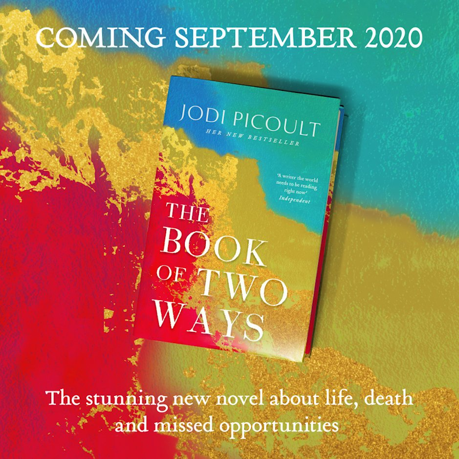 Cover reveal! Find out more about Jodi Picoult's forthcoming novel The Book  of Two Ways | The Reading List